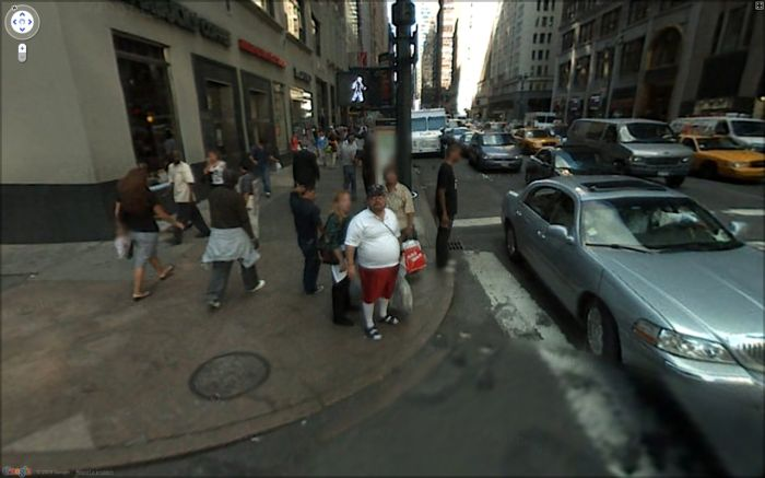 Interesting Google Street View photos
