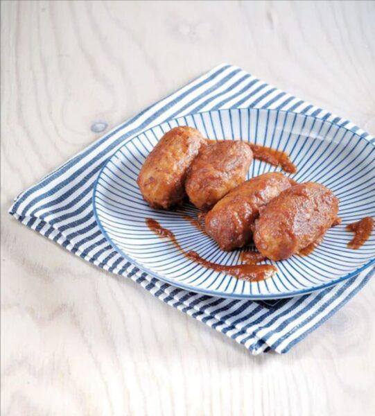 Σουτζουκάκια από φάβα