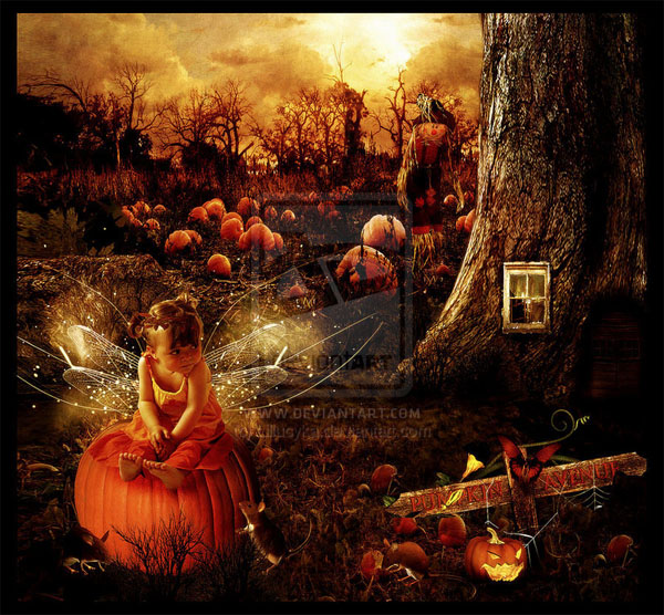 haldig10 20 Superb Examples of Halloween Themed Digital Art