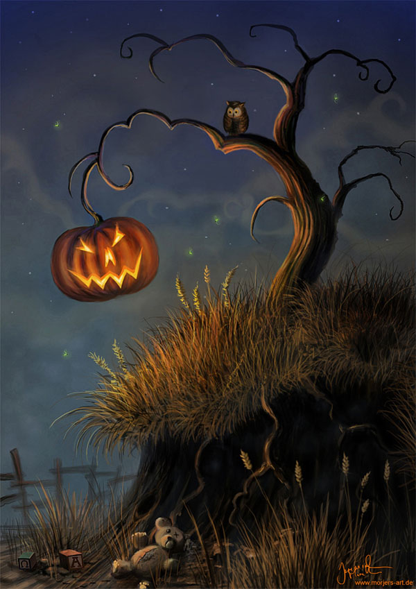 haldig8 20 Superb Examples of Halloween Themed Digital Art