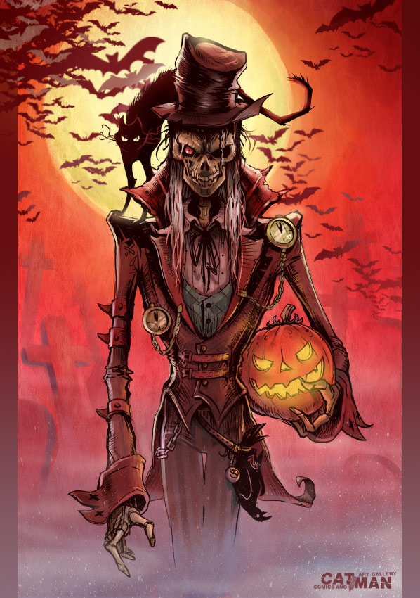 haldig5 20 Superb Examples of Halloween Themed Digital Art