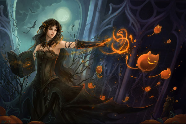 haldig1 20 Superb Examples of Halloween Themed Digital Art