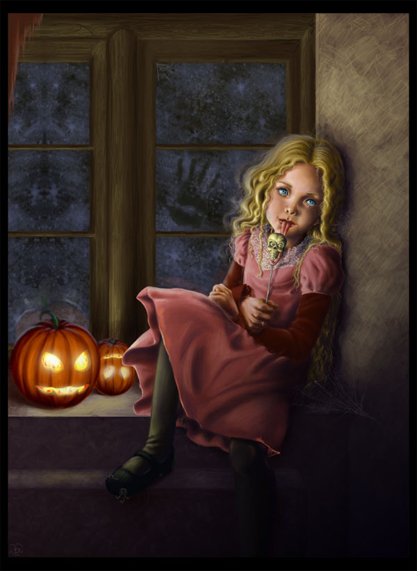 haldig17 20 Superb Examples of Halloween Themed Digital Art