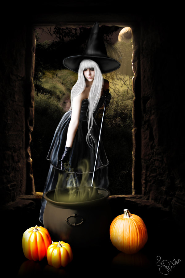 haldig19 20 Superb Examples of Halloween Themed Digital Art