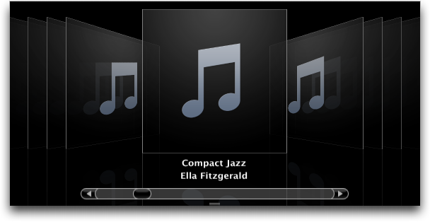 Apple iTunes 7.0: Album Cover Browser View