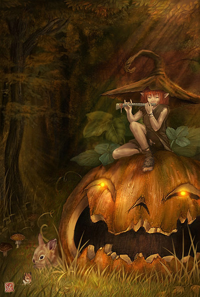 haldig3 20 Superb Examples of Halloween Themed Digital Art