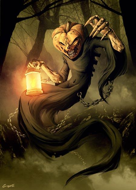 haldig18 20 Superb Examples of Halloween Themed Digital Art