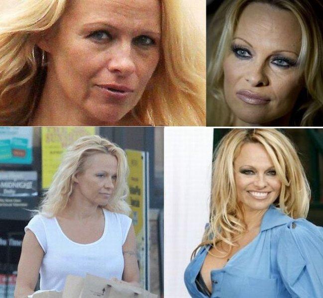Знаменитости без макияжа (47 фото)