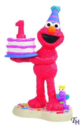 Gund Elmo 1 Year Birthday Figurine