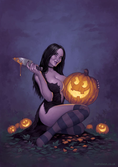 haldig11 20 Superb Examples of Halloween Themed Digital Art