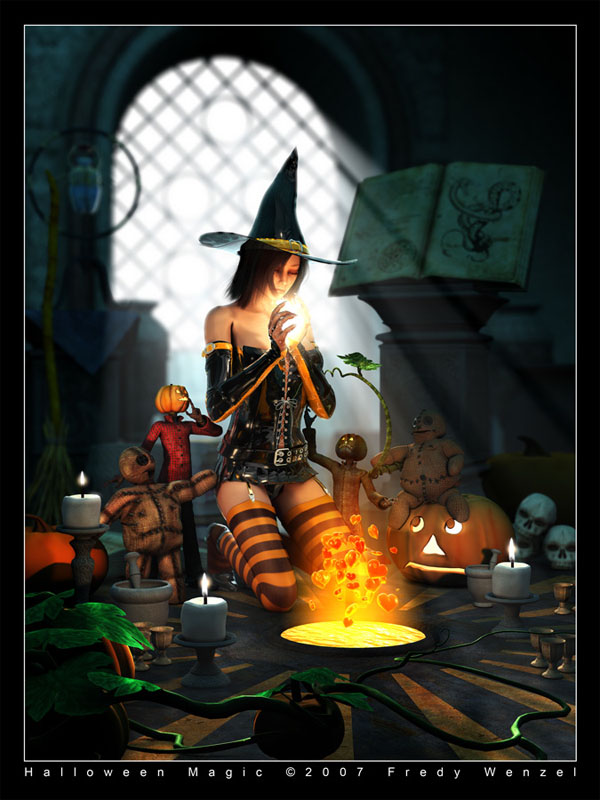 haldig7 20 Superb Examples of Halloween Themed Digital Art