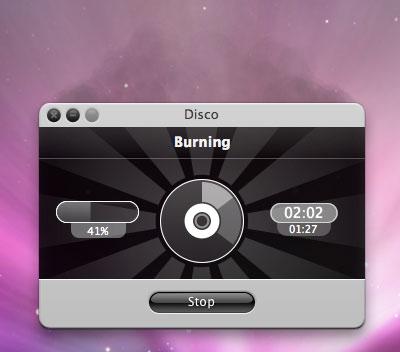disco-burn